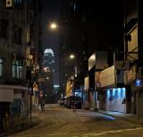 the street corner...
