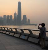 one hazy sunset...