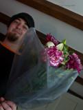 Birthday flowers from Jimi