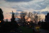 Peddler's Village at dusk
