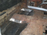Superior  ambulance/ Plancher arierre banc / rear seat floor pan