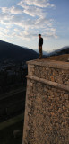 Watching the Castle Walls