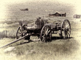 Bodie Ghost Town Wagon