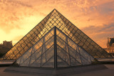 Sunset The Louvre