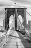 Brooklyn Bridge Black n White