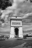 Arc de Triomphe BW