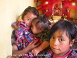 kids in church, solala, guatemala