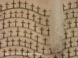 crosses, santiago atitlan, guatemala