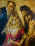 034 Franz von Lenbach and Family
