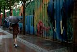 Pluie équatoriale à Rouen