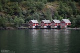 Lake side houses