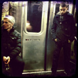 Reflection On The 1 Train