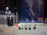 Woman Selling Plants
