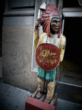 Wooden Indian