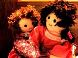 Dolls made by My Mom.