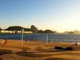 Copacabana (R�o de Janeiro), amaneciendo