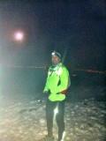 Luna llena, nieve, y -5 grados