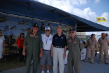 FIA 3-24-2011 Doolittle Raider, David J. Thatcher with B-25 Ground Crew