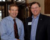 Jim Jordan (left) with my friend Craig (right)