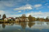 Duck pond at alton baker park