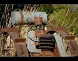 Old plow at Dorris Ranch