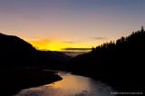 Sunrise over the willamette river