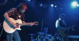 Scott Bernard on lead guitar with Kenny Loggins   Tom Brechtlein on drums