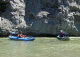 Jon Jay and Jason Currier on Cache Creek