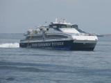 Mediterranea Pitiusa's Blau de Formentera approaching La Savina - June 2011