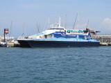 Balearia's Eivissa Jet at La Savina - June 2011