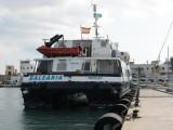 Balearia's 'New' Ferry Maverick Dos at La Savina - September 2011