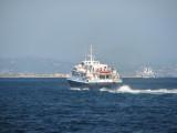 Balearia's Eivissa Jet leaving La Savina - September 2011