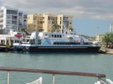 Balearia's 'New' Ferry Maverick at Ibiza - September 2011