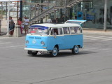 Immaculate VW Camper at La Savina - June 2012