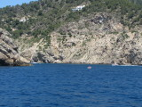 Entrance to Cala Llonga From The Sea