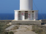 Cap de Barbaria Graffiti- June 2012