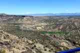 Indian Mesa land, Bandelier Overlook