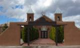 Church on the way to Santa Fe