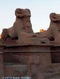 Ramshead Sphinx Holding Amun-Re Mummy