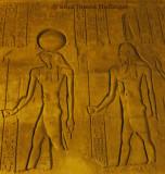 Horus and Amun at Kom Ombo