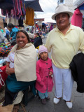 Beautiful Family in Otavalo