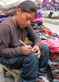 Boy Artist at Otavalo