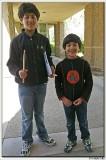 Kunal's drums class
