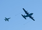 C-130 Hercules & F-16 Fighter