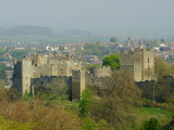 Ludlow ,marcher  fortress  and  town
