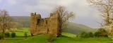 Hopton  Castle  keep.