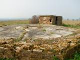 WW1  and  WW2  anti - aircraft  gun  site