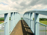 The  not-insubstantial  footbridge  over  the  A130.