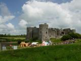 Medieval  Fair at  Carew  Castle