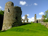 Narberth  Castle  ruins / 1